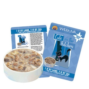 Weruva Tuna/Beef Cat Food Pouch