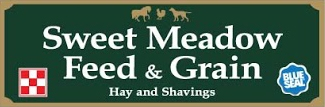 Sweet Meadow Feed and Grain Logo