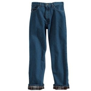 Carhartt Men's Relaxed Fit Jean - Straight Leg/Flannel