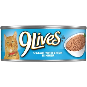 9Lives® Ocean Whitefish Dinner Canned Cat Food