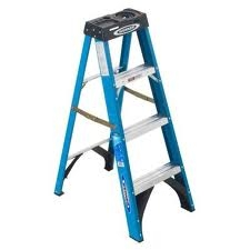 Fiberglass Step Ladder 8'