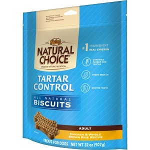 NATURAL CHOICE® Tartar Control Adult Biscuits