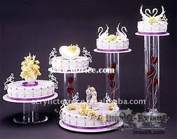 Wedding Cake Stand 5pcs.