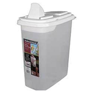 Feathered Friend Easy Pour BIRD SEED STORAGE CONTAINER 32 QT