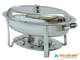 6 Quart Oval Chafer