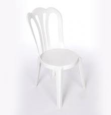 Bistro Chair, White