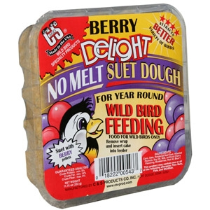 C & S Berry Delight No Melt Suet Dough