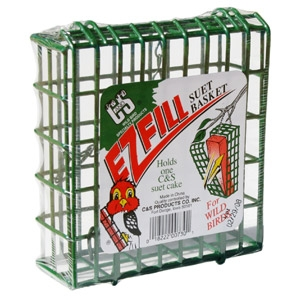 C & S Green E-Z Fill Suet Basket