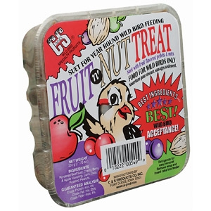 C & S Fruit N' Nut Treat Suet