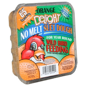 C & S Orange Delight No Melt Suet Dough