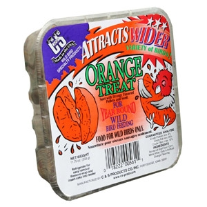 C & S Orange Treat Suet