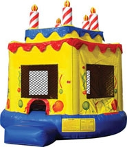 Inflatable Cake Bounce House