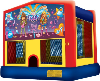 Module Bounce House, It's A Girl Thing