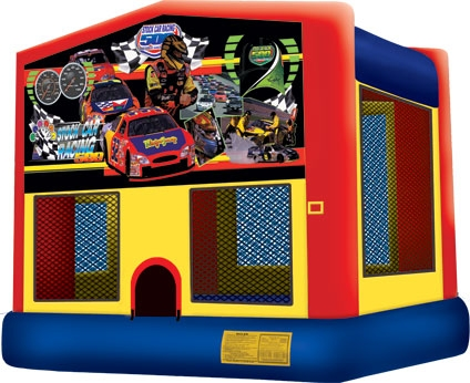 Module Bounce House, Race Cars