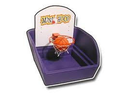 Kids Game, Basketball Toss
