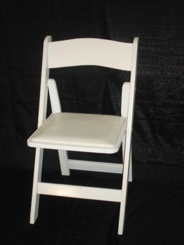 White Wood Party Chair