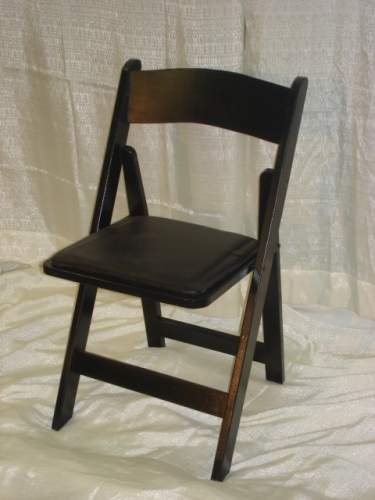 Black Wood Party Chair