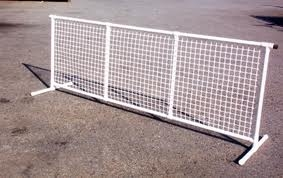 White Party or Event Fence