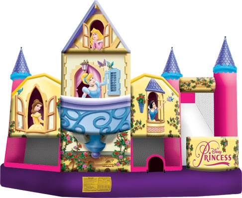 Amusement - Inflatable Disney Princess 5-in-1 Combo