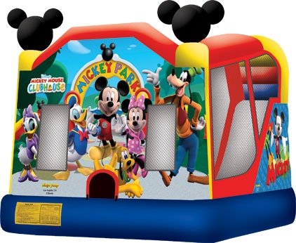 Amusement -Inflatable Mickey Park 4-in-1 Combo