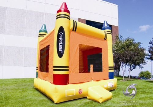 Amusement - Inflatable Crayonland Bouncer