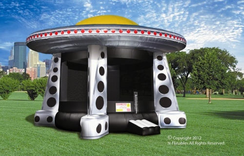 Amusement - Inflatable UFO Bouncer