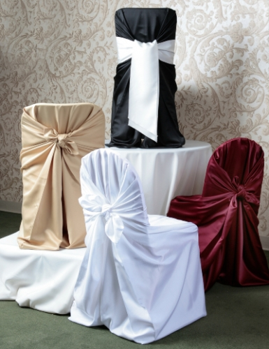 Self-Tie Style Chair Covers