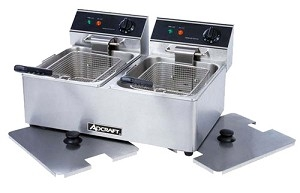 Counter Top Dual Tank Deep Fat Fryer