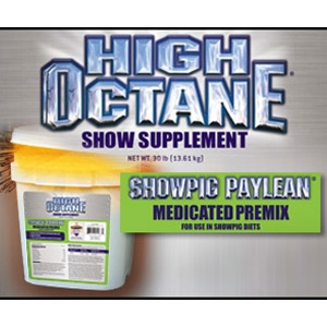 High Octane® Showpig Paylean® Premix