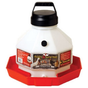 Little Giant 3 Gallon Plastic Poultry