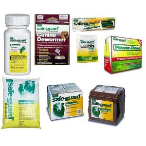 Safe-Guard De-Wormer for Dogs, Goats, Horses, and Cattle