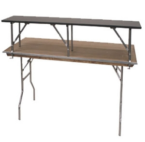 Standard 6' Table Riser/Bar Top
