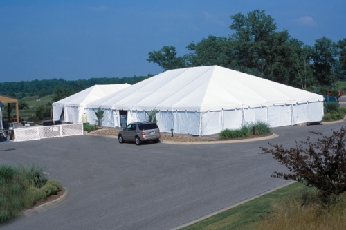 White Tent Sidewall - Standard