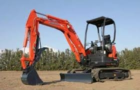 Mini Excavator with thumb