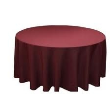 Tablecloth - Burgundy Round 96