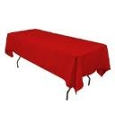 Tablecloth, Red Long