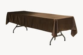 Tablecloth, Chocolate Long