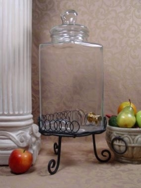 5 gal Verona glass Beverage Dispenser