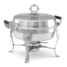 Chafer, 5 Qt. Round Queen Anne