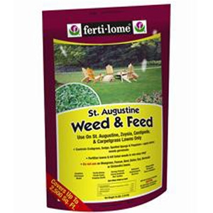 Fertilome St. Augustine Weed & Feed