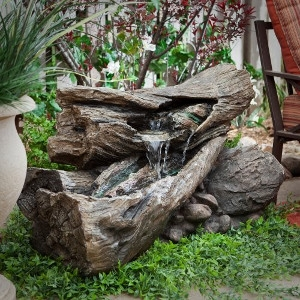 Natural Log Fountains