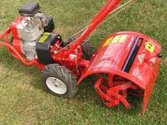 Small Rear Tine Tiller