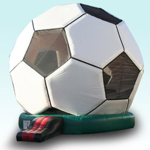 Soccer Ball Bounce House