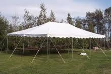 TENT / CANOPY, SELF INSTALLED 20X30