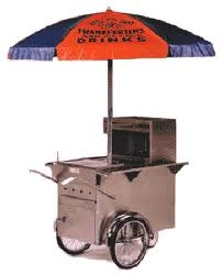 HOT DOG CART (NY PUSHCART STYLE)