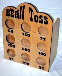 GAME, BEAN BAG TOSS