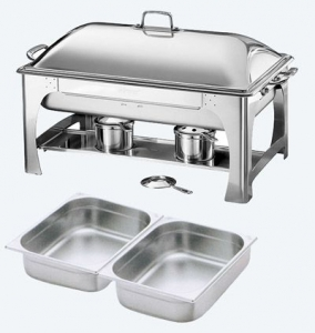 Chafer, Rectangular Deluxe 7 qt