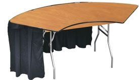 Table, Serpentine 4'