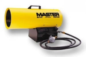 Master Heaters 50K BTU Propane Forced Air Forced Heater