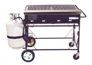 Big John Gas Grill, 3' LP